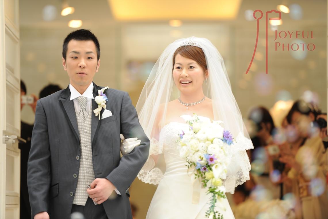 結婚式 新郎と新婦