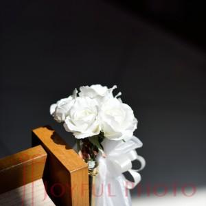 結婚式のリハーサル ドレス