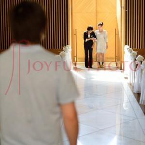 結婚式のリハーサル 新婦さん