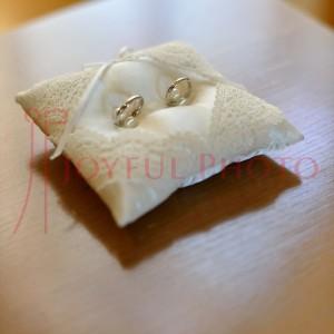 結婚式のリハーサル 指輪