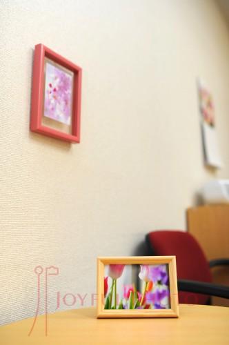 くりす鍼灸マッサージ院様待合室写真 春