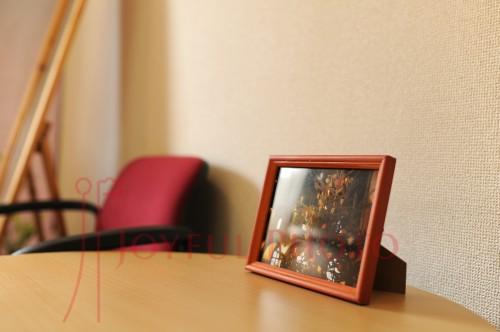 くりす鍼灸マッサージ院様待合室写真 冬
