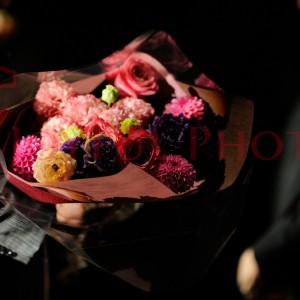ご両親へ渡す花束