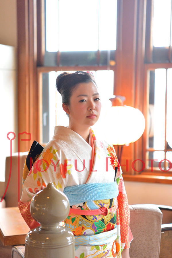 奈良ホテルで成人式の前撮り